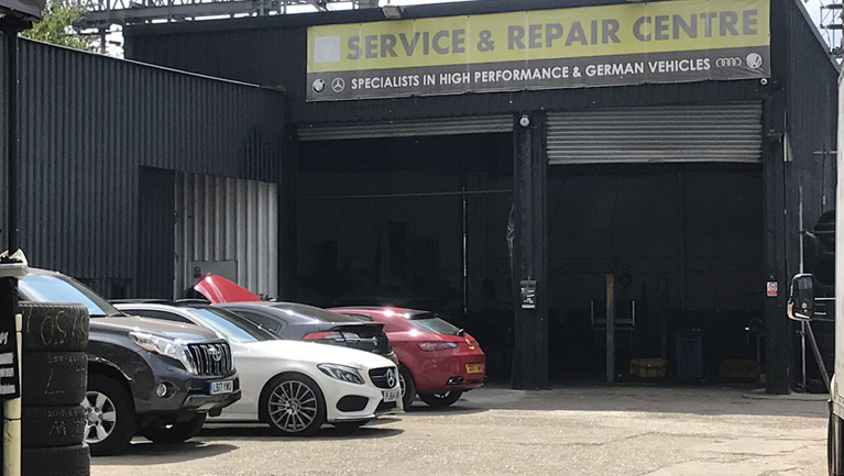 car repair garage london